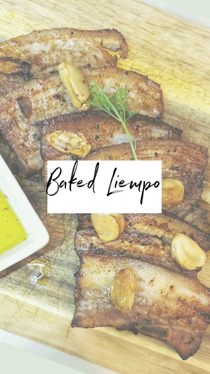 Baked Liempo (Pork Belly)