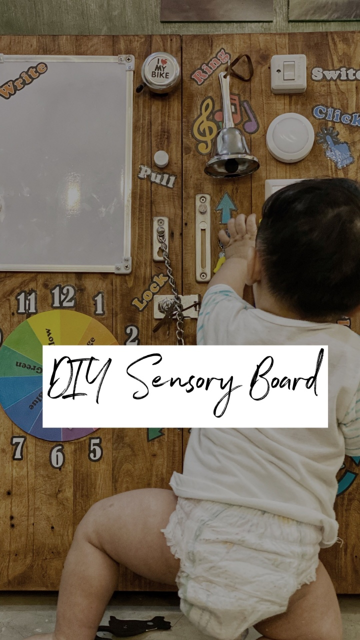 DIY: Sensory Board for Baby